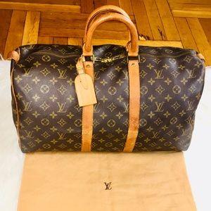 ✈️😍 Louis Vuitton Bandoulier 45 Travel Luggage